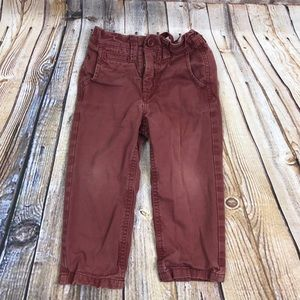 3/$12 Gap 2T chino pants
